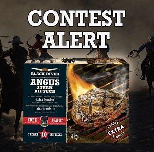 Black River Angus Contest: Win box of #BlackRiver steaks ($50)