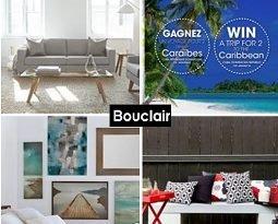 Bouclair Canada Contest - 2