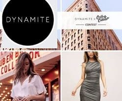 DynamiteClothing Contest: SMS Text to Win $100 Gift Card
