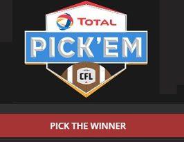 CFL Pick Em Contest: Make A Guess & Win Trip at Pickem.cfl.ca