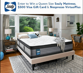 Sealy Canada Contest: Win Queen Sealy Mattress