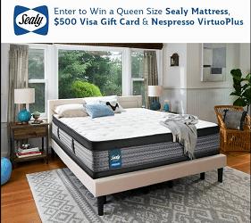 Sealy Canada Contest: Win Queen SealyMattress
