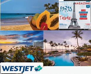 WestjetMagazine.com Vacation Contests