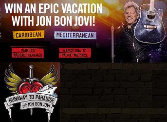 Bon Jovi Contests - Concert Ticket Giveaway