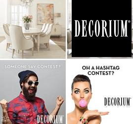 Decorium.com: Win a $1,000 Shopping Spree