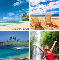 Hawaii Vacation sweepstakes for Canada & US