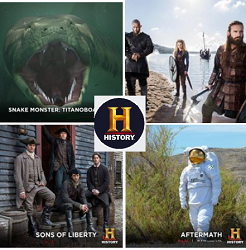History TV Channel Contests - Giveaways