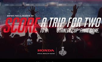 Honda Honda.ca/HondaStanleyCupContest Giveaway