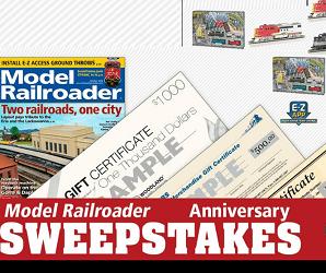 Model Railroader Contests -Giveaway