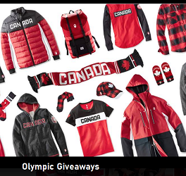 Giveaways from OlympicClub.ca