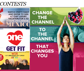 ONE TV contests Giveaways at onetv.ca/contests