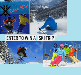 Win Skiing Vacation