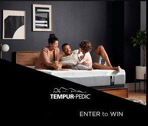Tempur-Pedic Contest: Win $100 Apple Gift Card