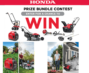Honda Power Equipment Contests for Canada