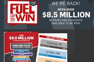 Enter FueluptoWin.ca Contest Pins