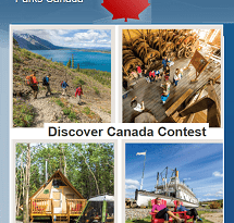 Parks Canada Contest: Win Discover Canada Family Vacation to Rocky Mountains