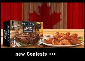 Pintys Foods Contests and Giveaways