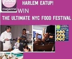 Foodnetwork.com Harlem Eat Up sweepstakes: