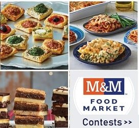 M&M Food Market Contests for Canada