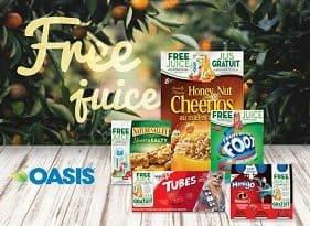 Oasis Canada Contests -