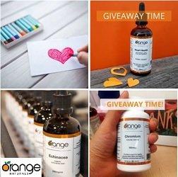 Orange Naturals Canada Contest Free Vitamin Giveaways