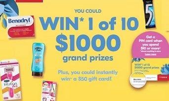 Enter Shoppersdrugmart.ca/Spring Contest