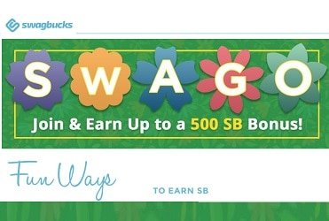 Swagbucks Swago Spin and Win Points