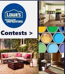 Lowes Contests for Canada -