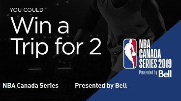 NBA Canada Contests