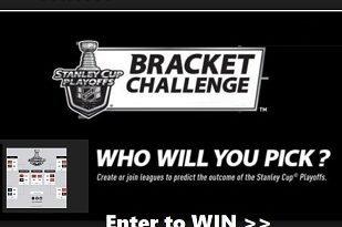 Stanley Cup Playoffs Bracket Challenge contest,