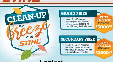 STIHLClub.ca Contest: