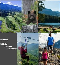 Whistler Vacation Contests -
