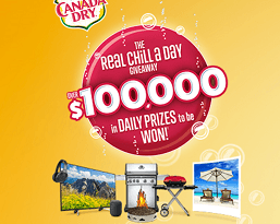 Canada Dry Contests 2019 Real Chill A Day
