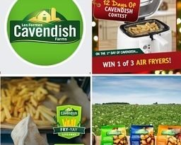 Cavendish Farms Contest: Win Air Fryer & Free Fries for a year