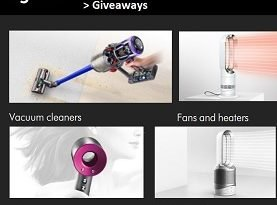 Dyson Contest: Win Dyson Vacuum & Cordless Straightener Giveaway