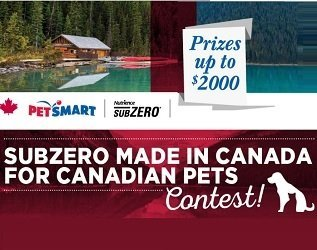 Petsmart Canada and Nutrience Pet Food giveaway,forcanadianpets.com
