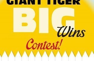 Giant Tiger Contest: Win $200 & $100 Gift Cards