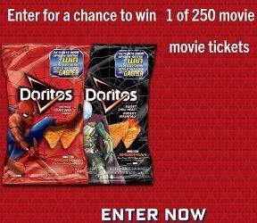 Circle K: Enter Doritos Pin Codes to Win Spiderman Tickets