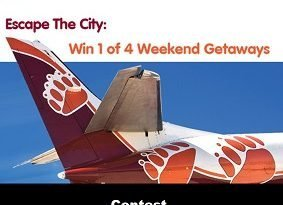 Bearskin Airlines Wake The Giant Contest: Win Trip to Thunder Bay, Ontario