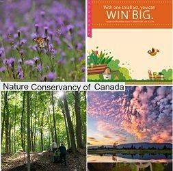 Nature Conservancy Canada Quiz & Win Destinations Summer