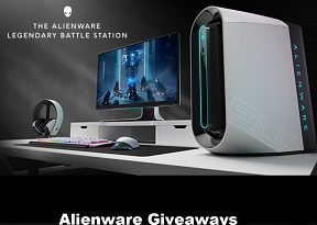 Alienware Giveaways: Win Free Alienware Aurora R9 Gaming PC