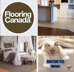 Flooring Canada Contest:  Win $1K Flooring Giveaway ($1,000)