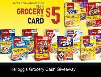Kelloggs Grocery Cash: Claim Free $5 Cards at kelloggsgrocerycash.ca