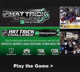 Play 2019 NHL Hat Trick Challenge - Win