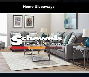 Schewels Home Sweepstakes: Win $25K Giveaway