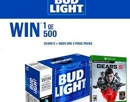 ShopBeerGear.ca: Enter Bud Light Codes to Win Gears 5 + XBOX One Prizes