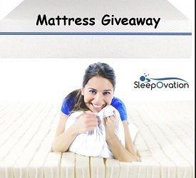 SleepOvation Sweepstakes: Win Free Mattress & Pillow Prizes