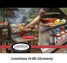 Louisiana Grills Contest: Win Louisiana Grills Charcoal Grill $899 USD