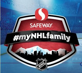 Safeway MyNHLFamily Contest: Win Free Groceries & NHL Prizes