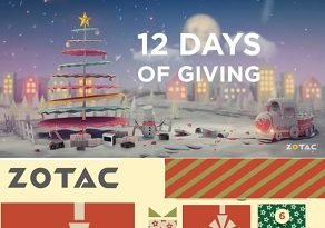 Zotac Sweepstakes: Win 12 Days of Giving Prizes